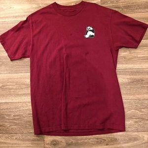 Maroon Panda Shirt